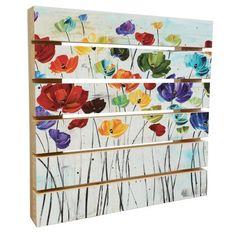 Lillies Wood Pallet Art, Size: 11 x Multi-color Arte Pallet, Wood Pallet Art, Pallet Painting, Pallet Crafts, Diy Pallet Projects, Wood Pallets, Painting On Wood, Wood Crafts, Pallet Kids