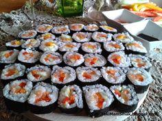Taki Mam Smak: Sushi z łososiem i warzywami