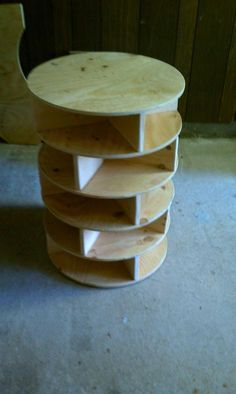 Want to make a lazy susan shoe rack - Talk to us! Join the DIY Conversation Now.Home Depot DIY Shoe Storage Lazy Susan, Lazy Susan Shoe Rack, Kids Shoe Storage, Diy Storage Rack, Storage Ideas, Storage Baskets, Kitchen Storage, Storage Spaces, Shoe Storage In Bedroom