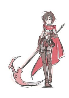 Dc Anime, Rwby Anime, Rwby Fanart, Anime Demon Boy, Anime Angel, Neon Katt, Rwby Bumblebee, Cool Doodles, Team Rwby
