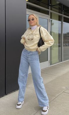 Indie Outfits, Teen Fashion Outfits, Retro Outfits, Cute Casual Outfits, Vintage Outfits, Tomboy Fashion, Streetwear Fashion, Trendy Fashion, Mode Purple