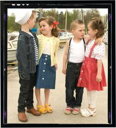 1950's style clothing line from Rockefella, Sweden. TOO CUTE