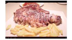 """La Txuleta de Guikar es uno de los platos estrella del Restaurante Aitzgorri de Donostia-San Sebastián. Y los invitados del programa """"A mesa puesta"""" de Teledonosti lo pudieron comprobar en sus propias carnes. #restaurantes #donostia #gros #pintxos"""