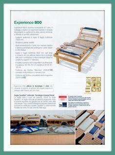 Experience 800 di Dorsal... Pedersoli Casa vi guiderà nella scelta del modello adatto alle vostre esigenze...