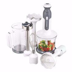 mixer elétrico kenwood alimento suco 5em1 com 3 lâminas 220v