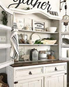 99 Gorgeous Dining Room Hutch Decor Ideas