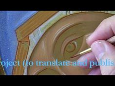 ▶ 5 - How to paint an icon. Graphic lines: reinstating the drawing - YouTube