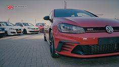 Here are 7 generations Golf GTI. It's nice to see them together and see the similarities and differences between the Golf I and Golf VII. They grew up after the Golf I and II, but some … Golf Tips, Volkswagen Golf, Dream Cars, Videos, Video Clip