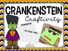 Crankenstein Craftivity and Writing Prompt {Freebie!}
