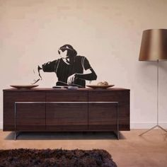 Photo by norwejohn - Awesome at home street art. You funk that bureau bad boy! KB