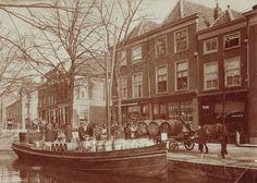 Voorstraat, Delft omstreeks 1905