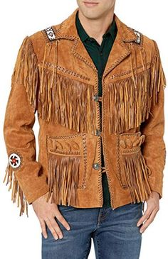 Stormwise Womens Western Jacket Freinged /& Bones Work