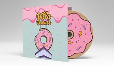 J Dilla Jay Dee Donuts - CD ReDesign on Behance