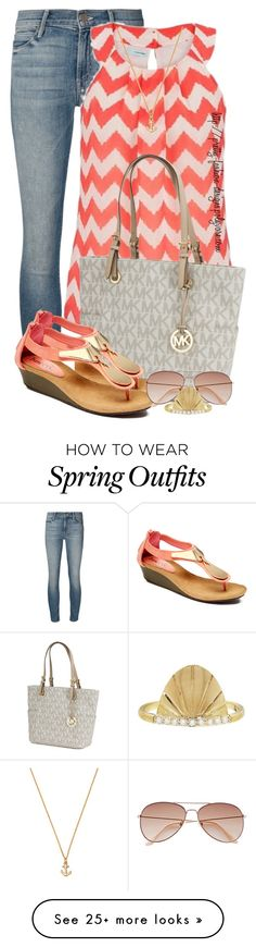 """~  Jeans & Sandals  ~"" by pretty-fashion-designs on Polyvore featuring Mother, maurices, Michael Kors, Bucco and H&M"