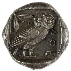 I'm obsessed with this ancient Grecian coin, the tetradrachm.