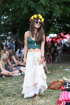 Festivals and flower crowns is pretty much equal to life.