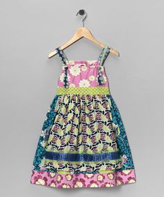 Not a pattern---But I have to figure out how to sew this. Little dresses with aprons will be adorable on a little whimsical toddler!