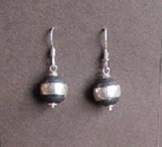 Sterling Silver Navajo Pearl Earrings
