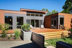 Sonoma California Breezehouse modern deck