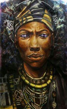 Orunmila , Orula by Stephen Hamilton❤