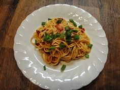 Christine's Pantry: Spaghetti with Bacon