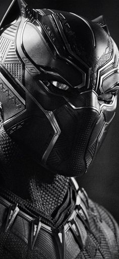 Black Panther Monochrome 4k Wallpapers | hdqwalls.com