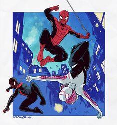 by StefanTosheff on DeviantArt Spiderman Art, Amazing Spiderman, Marvel Art, Marvel Dc Comics, Spaider Man, Character Design, Character Poses, Character Reference, Character Art