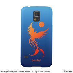 Rising Phoenix in Flames Phone Case Galaxy S5 Cover