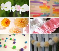 My Favorite DIY Garlands and Decorations, Part I