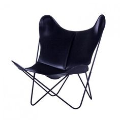 Fauteuil AA BUTTERFLY cuir