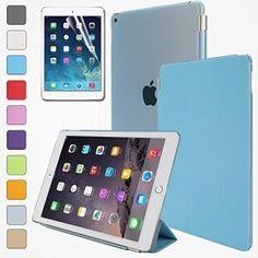 BESDATA? Funda CarcasaCubierta MagnšŠtica Smart Cover dise?ado para Apple iPad