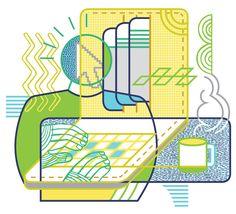Illustrated by Thom Sevalrud. Represented by Art Inc. Book Publishing, Surface Design, Illustrators, Hand Lettering, Illustration Art, Cartoon, Pattern, Inspiration, Biblical Inspiration