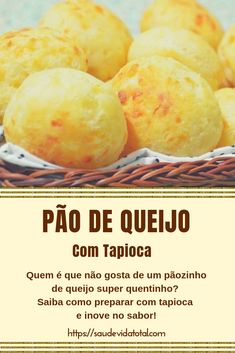 Pão de queijo de tapioca Dairy Free Recipes, Bread Recipes, Bread Cake, Time To Eat, Bread Rolls, Foodie Travel, Pain, Finger Foods, Food And Drink