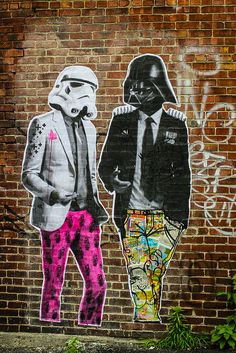 Here at INKED we love all types of art, especially street art. Part of what we love about street art is how an amazing piece has the ability to surprise you and Banksy, Graffiti Art, Amazing Street Art, Amazing Art, Awesome, Street Art Artiste, Art Du Monde, Photocollage, Art Moderne