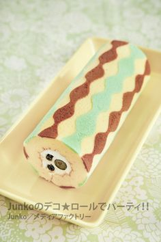 Swiss Roll Cakes, Swiss Cake, Japanese Roll Cake, Patterned Cake, Log Cake, Layered Desserts, Dessert Decoration, Baking And Pastry, Sweet Cakes