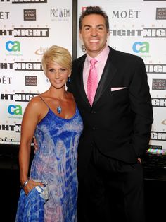 Former NFL quarterback Kurt Warner and his wife Brenda arrive at Muhammad Ali's Celebrity Fight Night XIII held at JW Marriott Desert Ridge Resort & Spa on March 24, 2012 in Phoenix, Arizona.