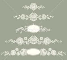 Lace Clip art Royalty Free Stock Vector Art Illustration - $25