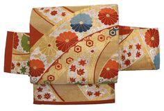 Kiku Nagoya Obi by Naomi no Kimono Asobi, via Flickr