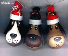 Christmas Painted Light Bulbs | ava7 funny stuff: funny, cool and amazing light bulb pictures