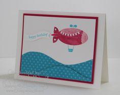 Jill's Card Creations: Blimp cuteness