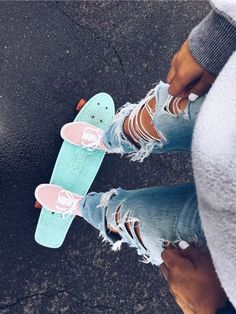 "VSCO girl ""😉 it's that pennyboard again - 𝕄𝕒𝕕𝔼𝔻𝕖𝕤𝕚𝕘𝕟𝕤 𝕊𝕥𝕦𝕕𝕚𝕠 ☆ ↓ 𝚂𝙷𝙾𝙿 ↓ ★ - Scrunchies"