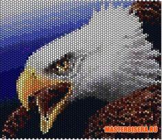Схемы птиц из бисера -  Beads, beads and again beads  wow!!