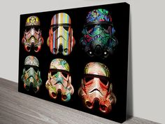Image Decor - Star Wars - Stormtroopers 6 PopArt Canvas | Image Decor