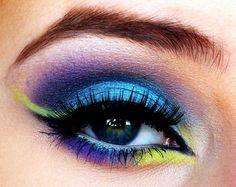 Peixe tropical #maquiagem #makeup #Carnaval