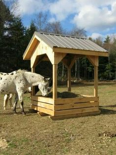 Homemade Horse Hay Feeder Round