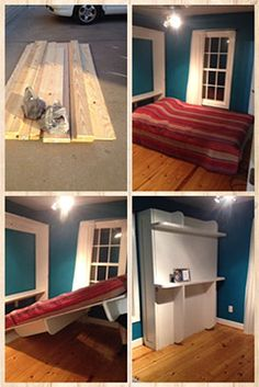 Simple to Build DIY Lori wall bed hardware kit and instructions