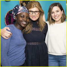 Connie Britton & Sophia Bush Support Lupita Nyong'o At 'Eclipsed'!