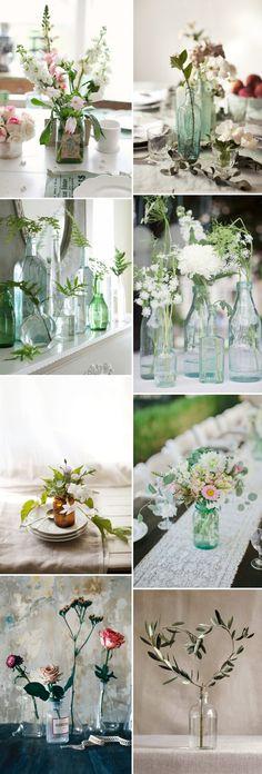 Bottle Wedding Centr