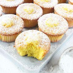 Citronmuffins Cupcake Recipes, Baking Recipes, Cookie Recipes, Cupcakes, Bakery Cakes, Food Cakes, Everyday Food, Healthy Baking, No Bake Cake