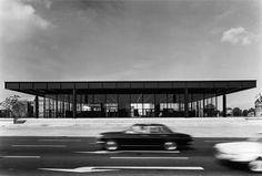 neue national galerie - berlin - mies van der rohe